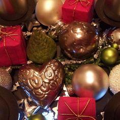 Keramik weihnachtliche Dekoration von isi-way.com