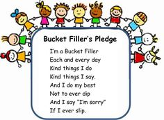 bucket fillers printables | bucket filler clip art image search results
