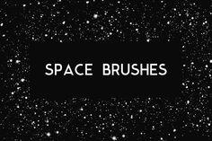 Space Photoshop Brushes @creativework247