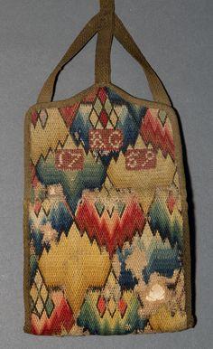 Textiles (Needlework) - Pocketbook, wool