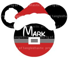 Mickey Santa Claus Christmas This one is my FAVE!!!!!! @Diane Jarman