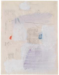 "theories-of: "" Robert Rauschenberg, Untitled, 1952 """