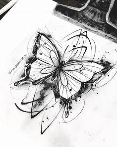 Dark Art Drawings, Art Drawings Sketches, Tattoo Sketches, Easy Drawings, Time Tattoos, Body Art Tattoos, Sleeve Tattoos, Tatoos, Tattoo Studio