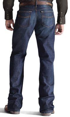 Ariat Men's M4 Relaxed Boot Leg Jeans - Roadhouse$65