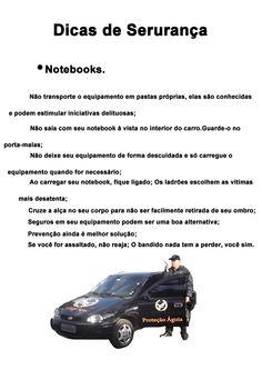 •Notebooks    Dicas de Segurança