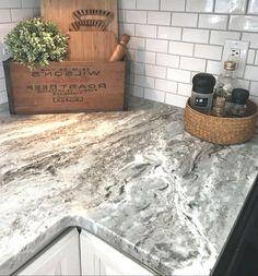 Chris Kitchen, Kitchen Reno, New Kitchen, Kitchen Remodel, Kitchen Ideas, Kitchen Cabinets, Granite Countertops Bathroom, Granite Kitchen, Kitchen Backsplash