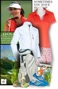 Want to get some golf fashion inspiration like this? Feel free to check out lorisgolfshoppe.polyvore.com #golf #polyvore #ootd #lorisgolfshoppe