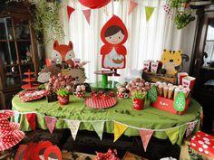 Cumpleaños Temático Caperucita Roja