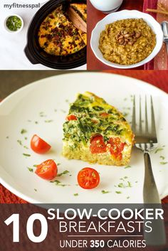 10 Slow-Cooker Breakfasts Under 350 Calories
