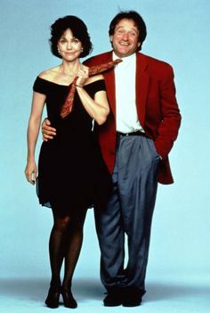 Robin Williams with Sally Field