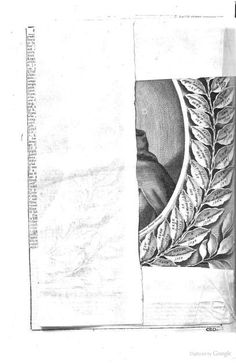 Cronologia universale, che facilita lo studio d... : a plate folded over, covering a portrait (via @historiacalam)
