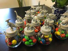 Dinosaur/dinosaur egg favors for baby shower or boys birthday #handmade