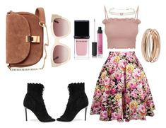 """""""Hana #3"""" by nora-amjed ❤ liked on Polyvore featuring Jimmy Choo, Givenchy and NARS Cosmetics"""