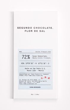 Clinical chocolate packaging for Casa Bosque chocolates, by Savvy Studio. Cool Packaging, Coffee Packaging, Print Packaging, Packaging Design, Branding Design, Bottle Packaging, Organic Packaging, Coffee Label, Collateral Design
