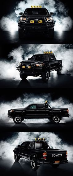 Nice Toyota 2017: 'Back to the Future' Toyota Tacoma... Four Wheels of Fury Check more at http://carsboard.pro/2017/2017/01/16/toyota-2017-back-to-the-future-toyota-tacoma-four-wheels-of-fury/