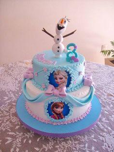 Elsa Birthday Cake, Paw Patrol Birthday Cake, Frozen Themed Birthday Party, Disney Frozen Birthday, Charlotte Cake, Frozen Party Decorations, Elsa Cakes, Frozen Cake, Cake Decorating Tips