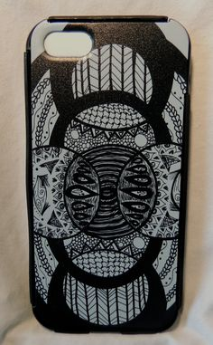 """Lunar Maze"" iphone 5/5s case"