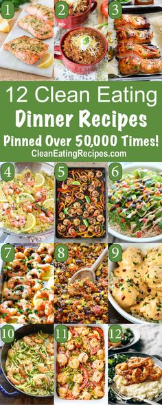Most Pinned Clean Eating Dinner Recipes