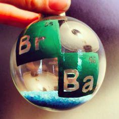 Breaking Bad Ornament by thegeekycauldron on Etsy, $8.00