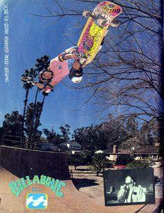 Eddie Elguera - Billabong ad - 1989