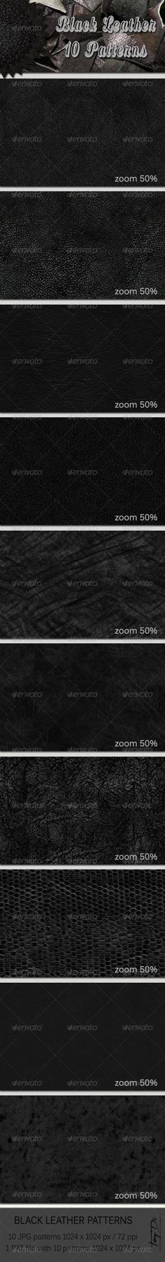 http://graphicriver.net/item/10-black-leather-patterns/6208776?ref=TanyDi2