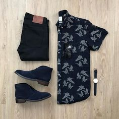 Mens Fashion Style – The World of Mens Fashion Stylish Mens Outfits, Casual Outfits, Men Casual, Fashion Outfits, Casual Chic, Fashion Ideas, Outfit Grid, Men Style Tips, Mens Clothing Styles