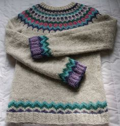 Ravelry: Project Gallery for Anna's Lopapeysa pattern by Anna Lewis