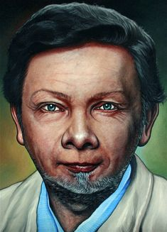 Eckhart tolle oil portrait painting by andrew king Oil On Canvas, Canvas Art, Tangle Art, Oil Portrait, Eckhart Tolle, Art Reference Poses, Photorealism, Easy Drawings, Original Paintings