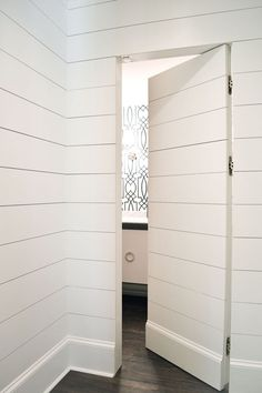 Closet doors are vital, however frequently forgotten when it involves space design. Develop a makeover for your space with these closet door ideas. It is required to produce distinct closet door ideas to beautify your residence decor. Bathroom Door Locks, Door Design, House Design, Basement Doors, Basement Ideas, Basement Renovations, Basement Ceilings, Bookcase Door, Bookcase Plans