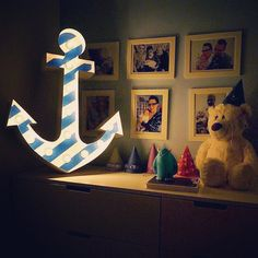 anchor marquee light sign by Hernstag