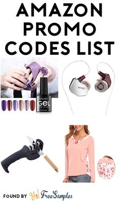 Amazon Promo Codes List: Water Flosser, Gel Nail Polish, 200ml Oil Diffuser, Clothes Steamer & More – April 5th 2018