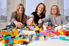 LEGO Serious Play for Brainstorming + Solving Business Challenges