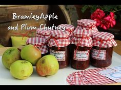 Hey Mummy | Not perfect, just parents Katy from Hey Mummy takes on her first batch of Apple and Plum Chutney with the help of her husband and 3 year old daughter! #plumandapplechutney #recipes #family #bramleyapples #plumrecipes #pyo