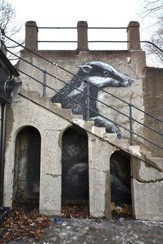 ROA in Stockholm     unurth | street art