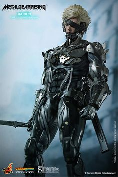 Metal Gear Raiden Sixth Scale Figure by Hot Toys   Sideshow Collectibles