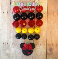 Bubblegum Chunky Necklace DIY Kit  Kissing by BubblegumBeadery, $10.00