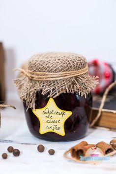 Bucataria cu Mirodenii: Dulceata de cirese negre cu rom si scortisoara