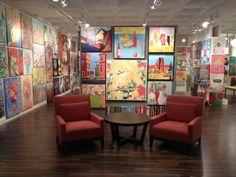 GreenBox Art + Culture showroom at AmericasMart