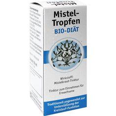 MISTEL TROPFEN Bio-Diät:   Packungsinhalt: 50 ml Tinktur PZN: 02652480 Hersteller: BIO-DIAET-BERLIN GmbH Preis: 6,07 EUR inkl. 19 % MwSt.…
