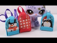 How to make LPS school backpack that opens - YouTube