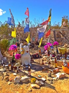 Grave found in the Terlingua Ghost Town Cemetery.