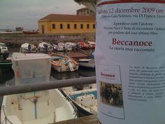 Uno dei manifesti per la presentazione del libro a Livorno presso la Libreria Gaia Scienza