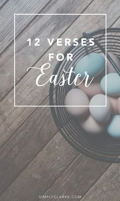 12 Verses for Easter verses 12 Verses For Easter - Simply Clarke Easter Images Religious, Catholic Easter, Happy Easter Quotes Jesus Christ, Jesus Easter, Easter Bible Verses, Easter Sayings, Jesus Has Risen, He Has Risen, Easter Prayers