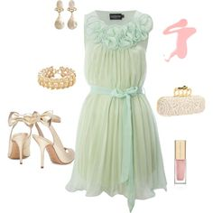 Mint, created by dcoleman01 on Polyvore