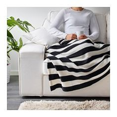 IKEA - EIVOR, Throw (have this throw and want to remember washing instructions.  Machine wash warm, do not put in dryer or dry clean.