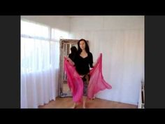 bellydance tutorial: how to use a veil