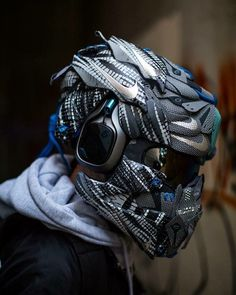 what a helmet use & for a feature ◾ - Industrial & military design - Motorrad Custom Motorcycle Helmets, Custom Helmets, Motorcycle Gear, Motorcycle Accessories, Custom Bikes, Bike Helmets, Women Motorcycle, Motocross, Taktischer Helm