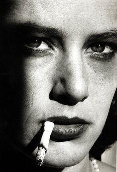 Debra Winger by Helmut Newton