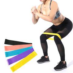 5 unids set Pilates gimnasio bandas de resistencia entrenamiento de fuerza  naturaleza lazo de goma deportes Fitness entrenamiento atlético elástico  Yoga ... 3bf15372cf11