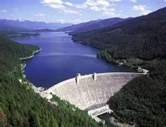 hungry horse dam, montana - some of the best camping spots around.